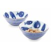Mud Pie™ Fish Chip and Dip Tray Cup Set