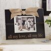 Mud Pie™ All My Love, All My Life Picture Frame