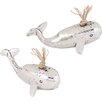 Mud Pie™ Anchors Aweigh Whale Salt and Pepper (Set of 2)