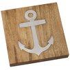 Mud Pie™ Wood and Metal Anchor Trivet