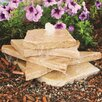 Natural Stone AquaRock Garden Fountain Kit - Finish: Sand Stone - Aquascape Indoor and Outdoor Fountains