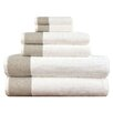 Lunasidus Venice 6 Piece Towel Set