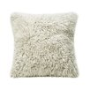 Fibre by Auskin Curly Sheepskin Throw Pillow