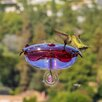 Ruby Sipper Window Hummingbird Feeder - Color: Lavender - Droll Yankees Bird Feeders
