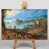 Big Box Art The Elder Great Fish Market by Pieter Bruegel Art Print on Canvas