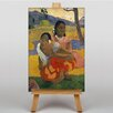 Big Box Art Nafea Faa Ipoipo by Paul Gauguin Art Print on Canvas