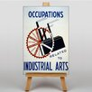 Big Box Art Industrial Arts Graphic Art on Canvas
