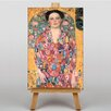 Big Box Art Eugenia Primavisa by Gustav Klimt Art Print on Canvas