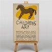 Big Box Art Children's Art Vintage Vintage Advertisement on Canvas