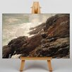 Big Box Art Leinwandbild High Cliff Coast Maine, Kunstdruck von Winslow Homer