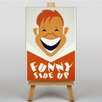 Big Box Art Funny Side Up Graphic Art on Canvas