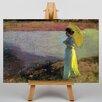Big Box Art Leinwandbild Woman by the Water Kunstdruck von Béla Iványi-Grünwald
