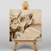 Big Box Art Dancers Drawing by Edgar Degas Art Print on Canvas