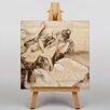 "Big Box Art Leinwandbild ""Dancers Drawing"" von Edgar Degas, Kunstdruck"