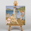 Big Box Art Leinwandbild Badende Frauen Kunstdruck von Maurice Denis