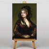 Big Box Art Leinwandbild Portrait of Isabel, Kunstdruck von Francisco De Goya