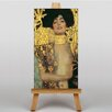 Big Box Art Judith by Gustav Klimt Art Print on Canvas