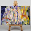 Big Box Art La Ville de Paris by Robert Delaunay Art Print on Canvas