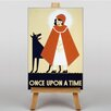 Big Box Art Once Upon a Time Vintage Advertisement on Canvas