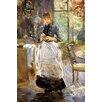 Big Box Art Leinwandbild Im Esszimmer Kunstdruck von Berthe Morisot