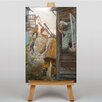 Big Box Art Street View by Christian Krohg Art Print on Canvas