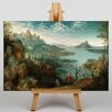 Big Box Art The Elder Landscape by Pieter Bruegel Art Print on Canvas
