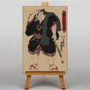 "Big Box Art Leinwandbild ""Japanese Oriental Sumo"" von Utagawa, Grafikdruck"