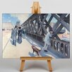 Big Box Art The Japan Times by Gustave Caillebotte Art Print on Canvas