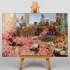 Big Box Art The Roses of Heliogabalus by Lawrence Alma-Tadema Art Print on Canvas