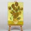Big Box Art Sunflowers by Vincent Van Gogh Art Print on Canvas