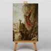 Big Box Art Sappho by Gustave Moreau Art Print on Canvas