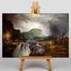 Big Box Art The Wilds of Lake Superior by Thomas Moran Art Print on Canvas