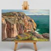 Big Box Art Coast by Victor Westerholm Art Print on Canvas