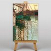 Big Box Art Boats in Port by Egon Schiele Art Print on Canvas