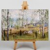Big Box Art Leinwandbild Winter Landscape No.4, Kunstdruck von Victor Westerholm