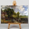 Big Box Art The Hay Wain by John Constable Art Print on Canvas
