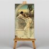 Big Box Art Godward Yes or No by John William Art Print on Canvas