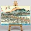 Big Box Art Japanese Oriental Kyoto by Hiroshige Art Print on Canvas