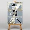 Big Box Art Photographs Exhibition Vintage Advertisement on Canvas