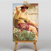 Big Box Art Leinwandbild A Tryst, Kunstdruck von John William Godward