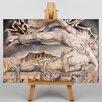 Big Box Art Leinwandbild Jobs Evil Dreams, Kunstdruck von William Blake