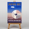 Big Box Art Indian Art Vintage Advertisement on Canvas