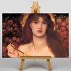 "Big Box Art Leinwandbild ""Veronica Veronese"" von Dante Gabriel Rossetti, Kunstdruck"