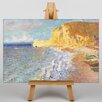 Big Box Art Morning in Etretat by Claude Monet Art Print on Canvas
