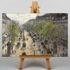 Big Box Art Boulevard Montmartre in Primavera by Camille Pissarro Art Print on Canvas