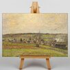 Big Box Art French Countryside by Camille Pissaro Art Print on Canvas