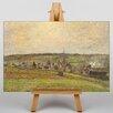 Big Box Art Leinwandbild French Countryside Kunstdruck von Camille Pissaro