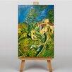 Big Box Art Leinwandbild View of Town, Kunstdruck von Chaim Soutine