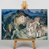 "Big Box Art Leinwandbild ""View of Cagnes"" von Chaim Soutine, Kunstdruck"