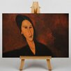 Big Box Art Portrait No.3 by Amedeo Modigliani Art Print on Canvas